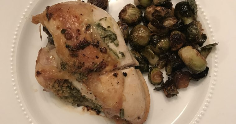 Garlic Rosemary Chicken for Dos
