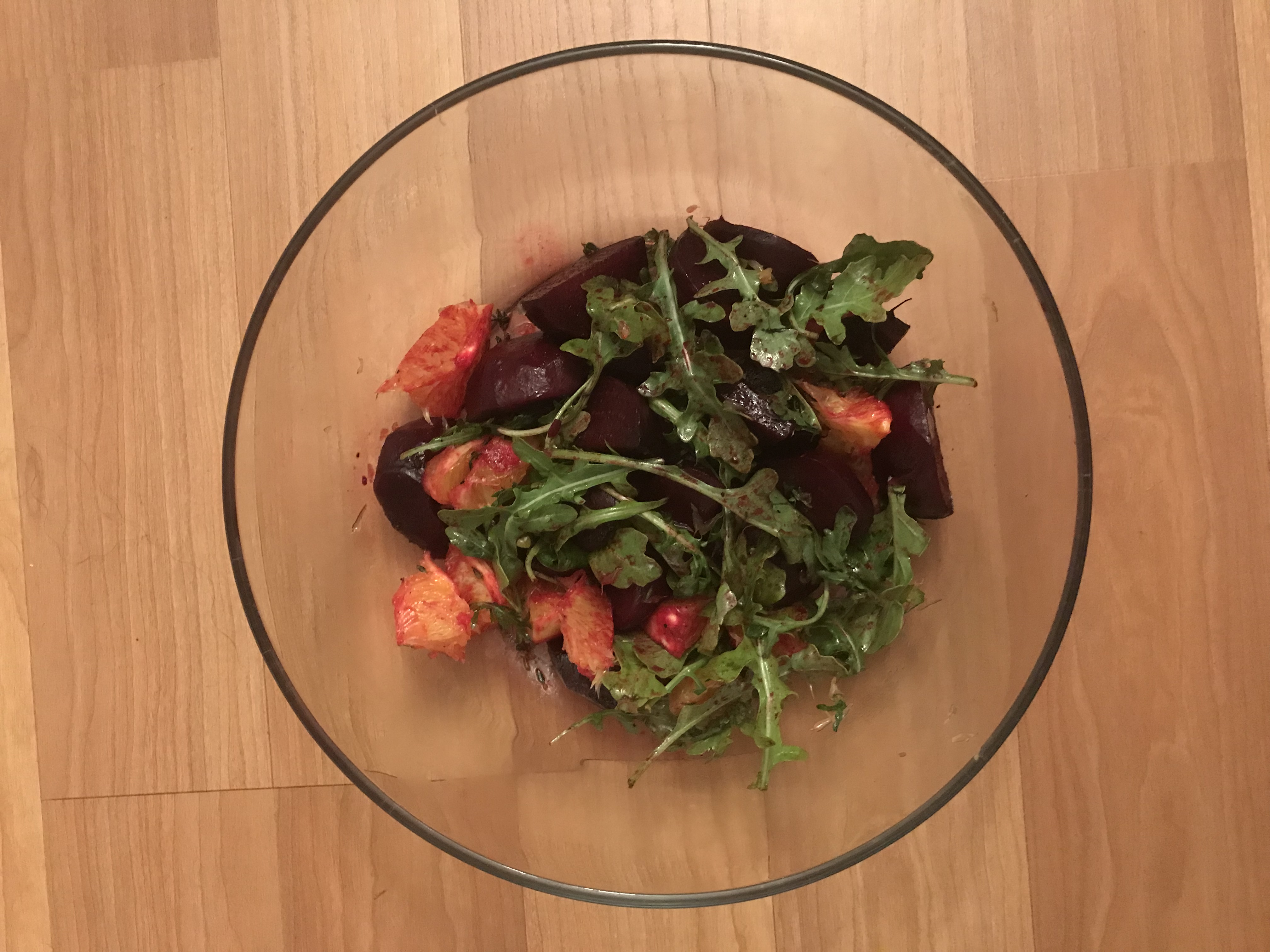 Roasted Beet Salad with Oranges